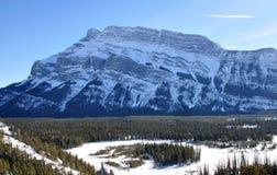 Скалистые горы, Banff, Канада Стоковые Фотографии RF
