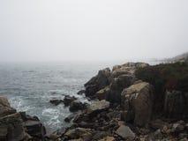 Скалистые пляжи Мейна Стоковое фото RF