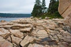 Скалистый берег Стоковая Фотография