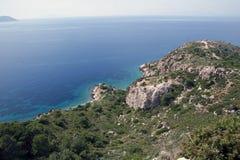 Скалистый берег стоковое изображение