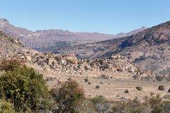 Скалистый горный вид - ландшафт Cradock Стоковые Изображения RF