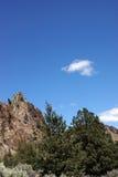 Скалистая зига риолита Стоковое Изображение RF
