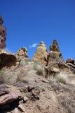 Скалистый гребень риолита Стоковые Изображения RF