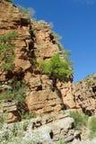 Скалистый каньон реки Стоковые Изображения RF