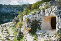 Скалистый некрополь Стоковые Фотографии RF
