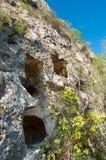 Скалистый некрополь Стоковые Изображения