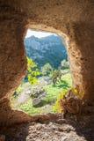 Скалистый некрополь Стоковые Фото