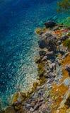 Скалистый пляж Стоковое фото RF