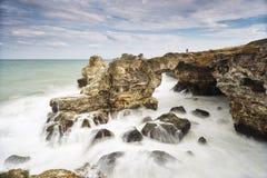 Скалистый свод около Tyulenovo Стоковая Фотография RF