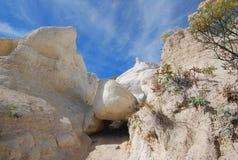 скалы белые Стоковая Фотография RF
