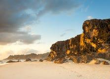 Скалы восхода солнца Стоковые Фото