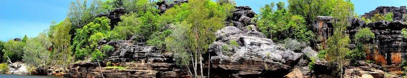 Скалы в земле Арнема стоковое фото rf