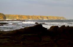 Скалы в расстоянии Стоковые Фотографии RF