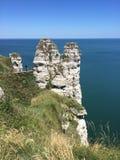 Скалы в Франции Стоковые Фото