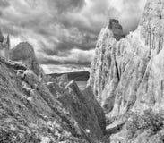Скалы глины Стоковые Изображения