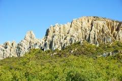 Скалы глины Omarama Стоковая Фотография RF