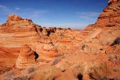 Скалы глушь Paria Каньон-Vermilion, Аризона, США Стоковая Фотография RF