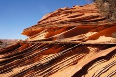Скалы глушь Paria Каньон-Vermilion, Аризона, США Стоковое Изображение