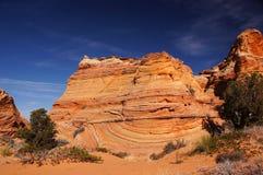 Скалы глушь Paria Каньон-Vermilion, Аризона, США Стоковые Изображения