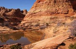 Скалы глушь Paria Каньон-Vermilion, Аризона, США Стоковое Изображение RF