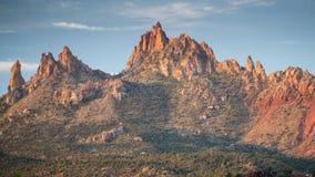 Скалы западные, Сион орла, Юта Стоковые Фотографии RF