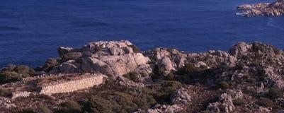 Скалы и береговая линия Стоковые Фото