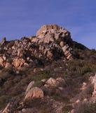 Скалы и береговая линия Стоковая Фотография