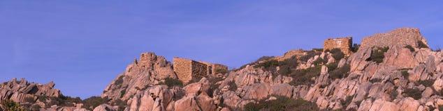 Скалы и береговая линия Стоковое Изображение