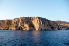 Скалы и море Стоковое Изображение