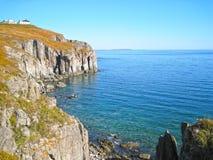 Скалы и море Стоковые Изображения RF