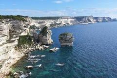 Скалы Корсики, Франция Стоковое Изображение