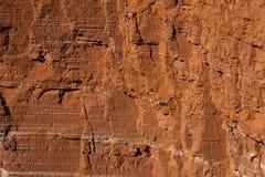 Скалы красного песчаника Стоковая Фотография