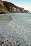 Скалы мела и море, gen ¼ RÃ Стоковые Фотографии RF