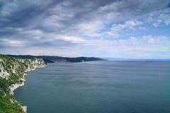 Скалы на адриатическом побережье Стоковые Изображения RF