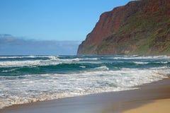 Скалы на Тихий Океан Стоковое Изображение