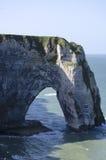скалы Нормандия Стоковая Фотография
