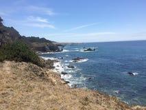 Скалы океана Стоковые Изображения RF
