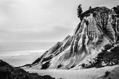 Скалы песчаника формируя странные формы и текстуры Стоковое Изображение