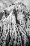 Скалы песчаника формируя странные формы и текстуры Стоковое Фото