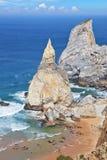 2 скалы песчаника Стоковое Изображение