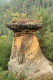 Скалы песчаника стоковые изображения rf