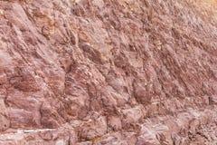 Скалы предпосылки коричневые Стоковое Изображение
