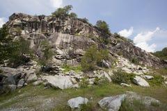 скалы утесистые Стоковые Изображения RF
