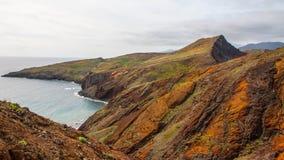 Скалы anc гор Мадейры Стоковое Фото