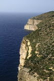 Скалы Dingli, Мальта Стоковые Фотографии RF