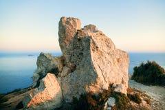 Скалы Dingli Стоковая Фотография