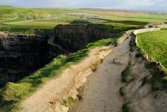 Скалы irlanda moher Стоковые Изображения RF