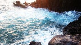 Скалы Jeju Стоковые Фото
