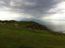 Скалы liag Sliabh Стоковое Изображение RF