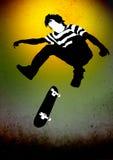 скейтбордист бесплатная иллюстрация